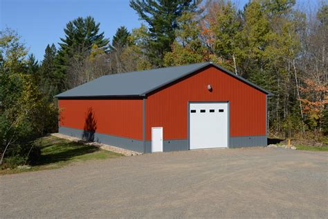 barn garages important tips for constructing a post frame building