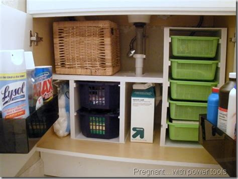 under bathroom sink organization ideas real life bathroom organization ideas