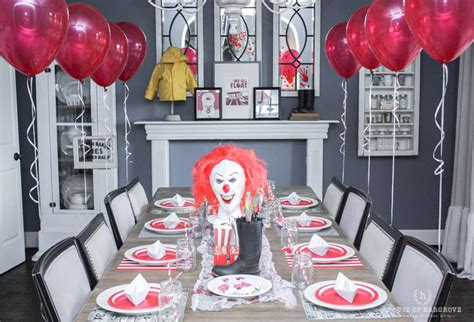 float your boat with a really cheap quote it movie halloween party scary it clown carnival decor