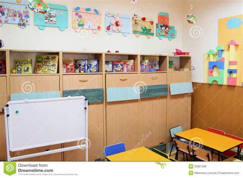interior design how to kindergartenlassroom empty romania empty kindergarten classroom editorial photo image 33807396