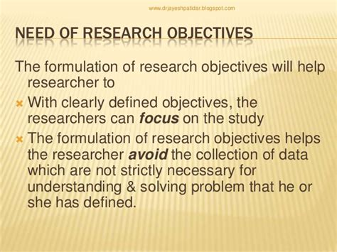 research paper objectives sle of general and specific objectives in thesis