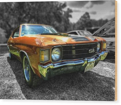 Lancing Samora Gold Ss gold 72 chevelle ss 001 photograph by lance vaughn