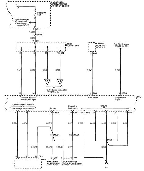 radio wiring diagram for 2004 xg350 k