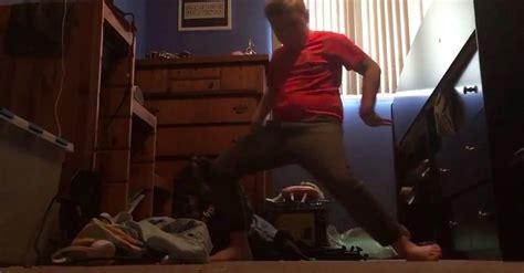 fortnites orange shirt kid  justice   dance