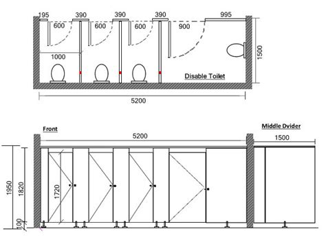 Bathroom Partitions Dimensions by Toilet Cubicle Dimensions Australian Bathroom Standards