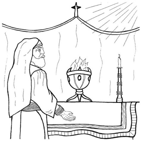 coloring pages of the birth of john the baptist luke 1 5 25 john s birth was predicted zacharias can t