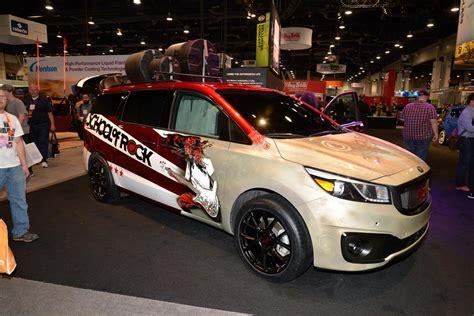 Kia Las Vegas Kia Hits Las Vegas With Array Of Custom Concepts