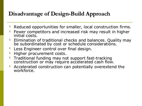 design and build contract advantages construction contracts docuements 08092008