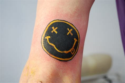 nirvana smiley by flosch on deviantart