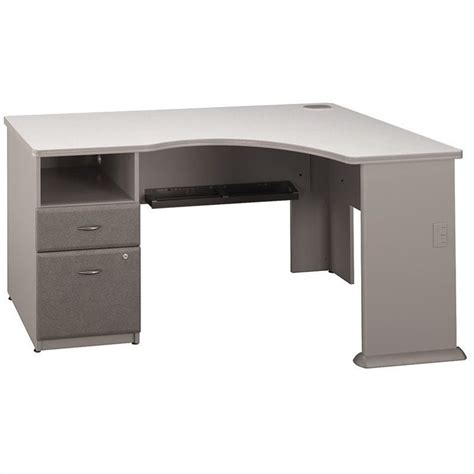 Corner Desk For Two Bush Business Series A 2 Drawer Pedestal Corner Desk