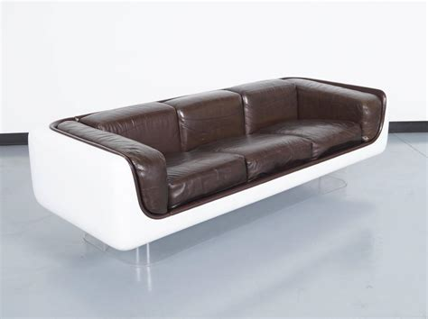 floating sofa vintage floating sofa by steelcase at 1stdibs