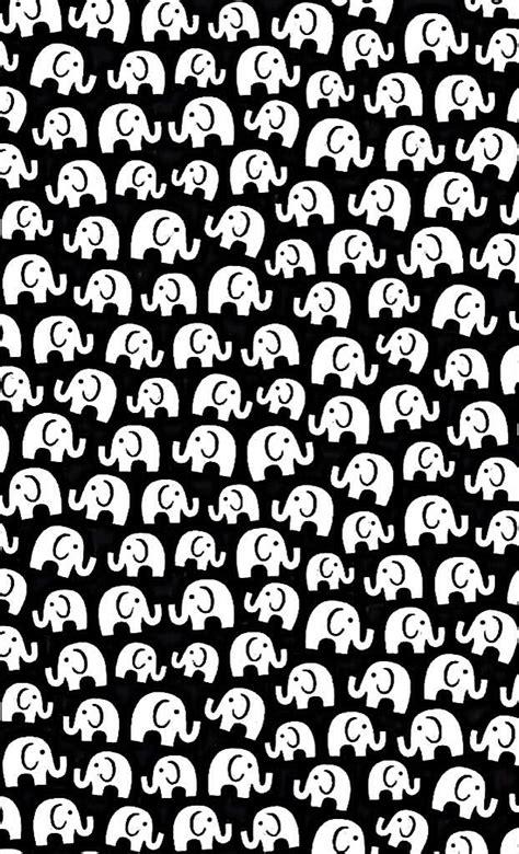 black and white pattern elephant freebies galore elephant wallpaper and wallpaper