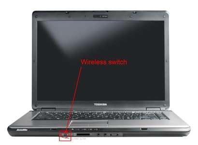 solved wireless   function   toshiba laptop