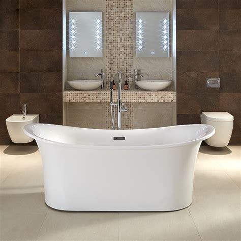 bathroom catalogs free torrelino 1700 x 800mm double ended slipper bath