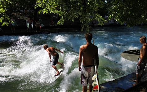 Surfing Germany by River Surfing It S A Thing In Germany The Luxury Spot