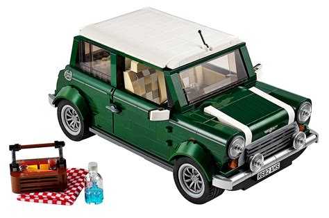 lego honda pilot mini cooper lego model front three quarter with picnic photo 9