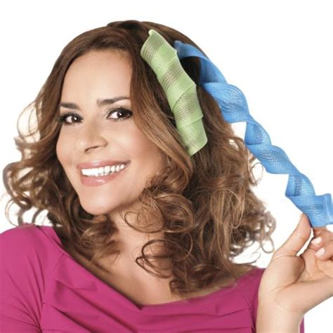 Hair Curlers As Seen On Tv by Diy Magic Hair Wavz Waves Curlers Rollers Spiral Curls