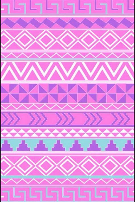 tribal pattern pink and blue background blue colorful cute green pink purple