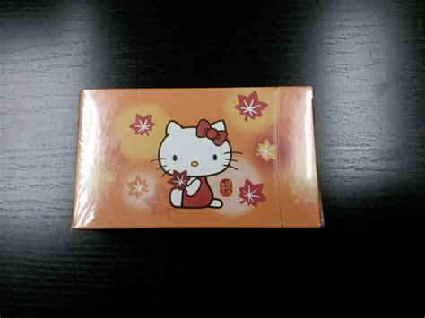Jets Gift Card - eva air hello kitty jet playing cards hong kong aviation shop