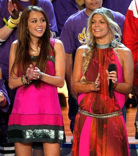 Fergie I Was A Teenaged by Fergie Miley Cyrus Photos Photos 2008 Choice Awards