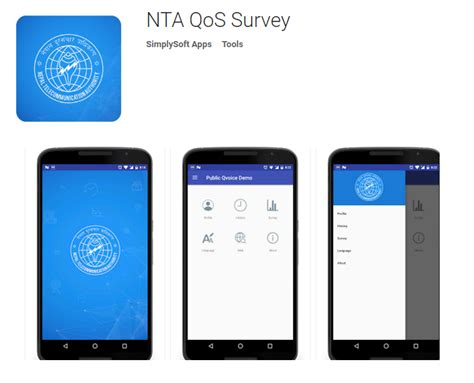 Online Survey App - nta qos survey app launched by nepal telecommunications authority