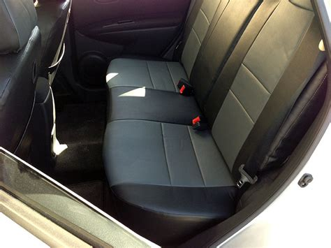 nissan leaf seat covers 2012 nissan leaf 2011 2014 s leather custom fit seat cover ebay