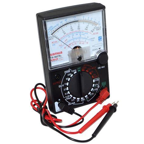 Voltmeter Analog yx 360trn analog multimeter voltmeter ammeter ohmmeter
