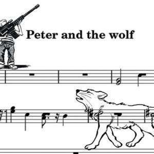 pierino e il lupo testo v trend enrico voce recitante in pierino e il