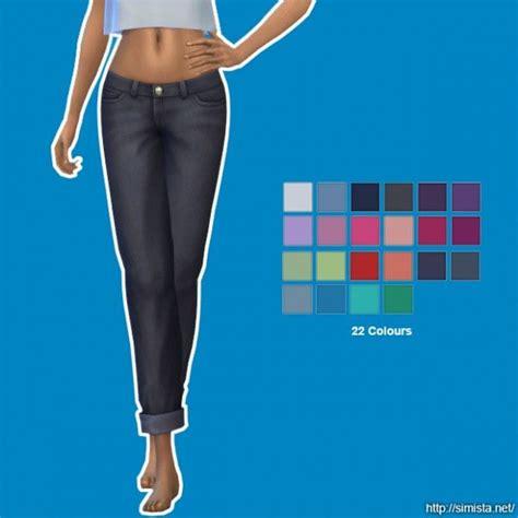 sims 4 cc boyfriend jeans simista boyfriend jean recolours sims 4 downloads