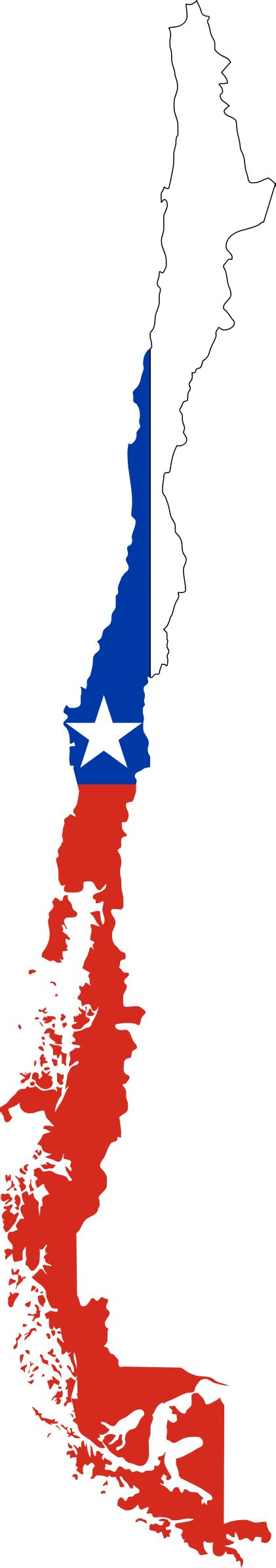 chile flag colors chile map png