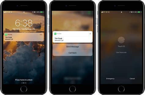 how to protect missed calls on the lock screen of your iphone
