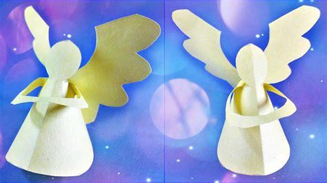 tutorial origami angel origami angel 3d paper craft tutorial diy how to make