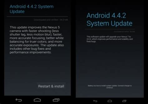 how to root android 4 4 2 android 4 4 2 kot49h bug fix update rolls out for nexus 7 2013 how to install and root
