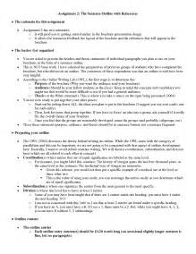 best photos of apa sentence outline example full