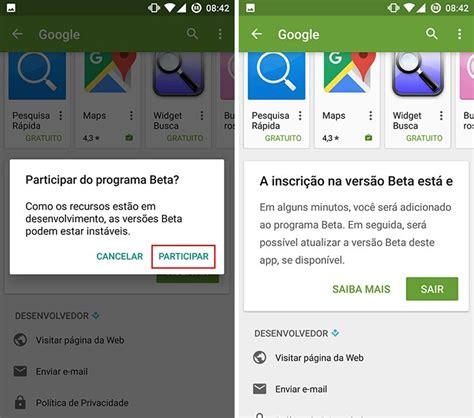 Play Store Original Como Baixar A Vers 227 O Beta De Um App No Android Via