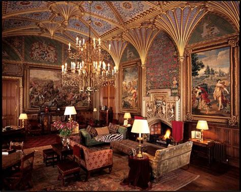castle interior interior of eastnor castle in herefordshire by