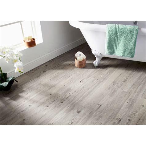 Self Adhesive Wood Effect Floor Planks   Grey   Tiling