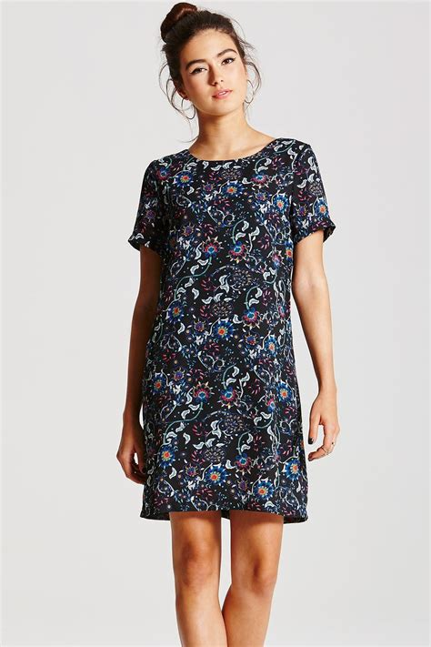 Floral Print Tunic outlet on floral print tunic dress