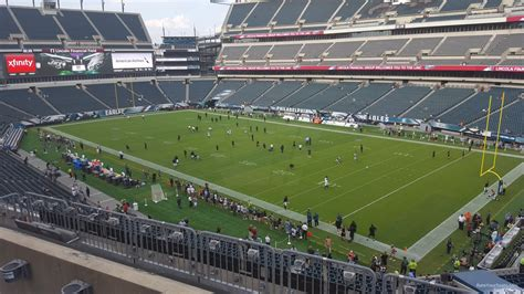 lincoln sections lincoln financial field section c6 philadelphia eagles