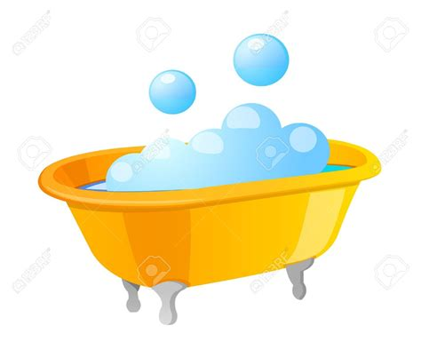 Bathtub With Bubbles by Baby Bathtub Clipart Clipground