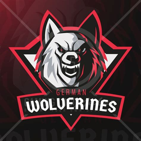 Gaming Logo Template wolf logo template 3 gaming logo maker gaming logo maker