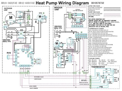 trane air conditioner wiring diagram heating and air