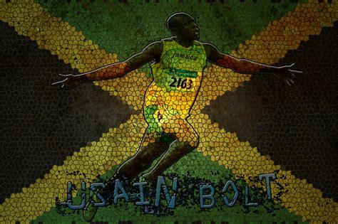 jamaica wallpaper for walls usain bolt team jamaica wallpaper by daz9682 on deviantart