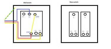 wiring double 2 way lightswitch diynot forums