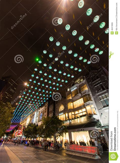 christmas lights street melbourne decoratingspecial com