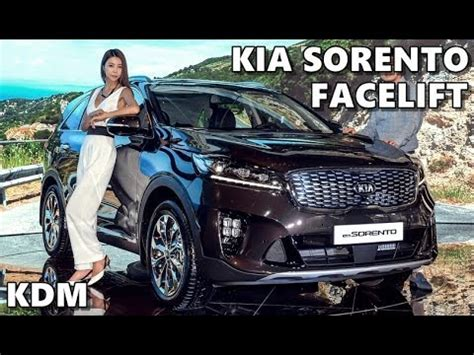 2018 kia sorento facelift (kdm) youtube