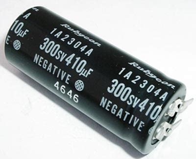 rubycon photo capacitor 410uf 300sv photo flash electrolytic capacitor rubycon 280fkx410ap0cf west florida components