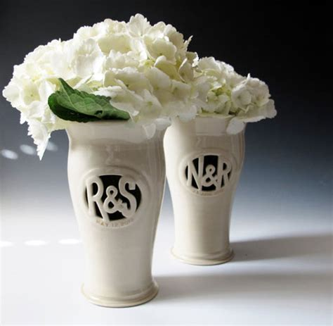Custom Vase by Wedding Giveaway Winner Custom Monogram Vase From Of