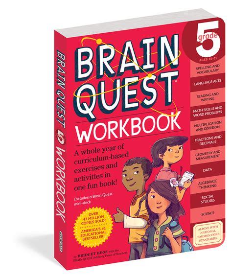 Brain Quest Workbook Grade 5 brain quest workbook grade 5 workman publishing