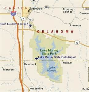 Lake Murray State Park Map by Lake Murray State Park Map